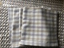 4 lovely Woven Placemats 13x20 + 4 Napkins Lovely NEW Brown/Gray
