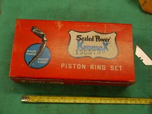 NOS Ring Set Kromex Sealed Power Piston Ring  Chevy  C10 Corvette Man cave