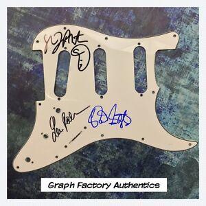 GFA Brian Setzer Band STRAY CATS Signed Electric Pickguard PROOF AD1 COA