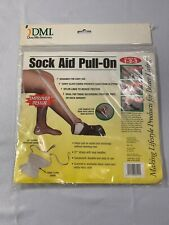 New DMI Sock Aid Pull-On - Helps Pull On Socks & Stockings Without Bending Over