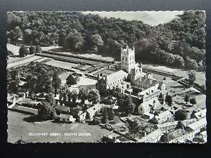 South Devon BUCKFAST ABBEY x 2 inc Aerial View c1960s RP Postcard