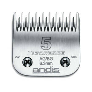 Andis UltraEdge Blade Size 5 Leaves 6.3mm Fits Andis, Wahl, Oster, A5
