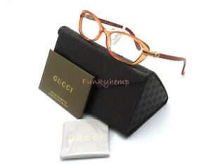 NWT Authentic GUCCI GG 32007 Optical RX Starfish Oval 52-16-140 Made In Italy