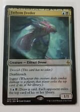 Magic The Gathering Fathom Feeder 203/274 Battle for Zendikar Rare MTG Cards
