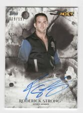 Roderick Strong AUTOGRAPH /199 2018 Topps Undisputed WWE NXT Wrestling AUTO ROH