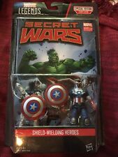 MARVEL UNIVERSE LEGENDS COMIC PACK: SHIELD WIELDING HEROES: VANCE ASTRO & WILSON