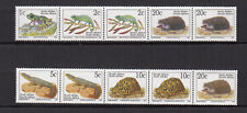 faune RSA Afrique du Sud South Africa 1996 2 bandes 10 timbres neufs /FDCa150