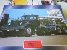 Super Trucks Hauben Zugmaschinen USA MACK LTL 1953