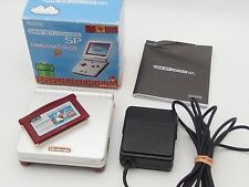 W/Box!! Nintendo Game Boy Advance SP Famicom Color GBA Japan Console Mario