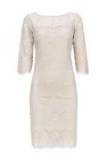 BNWT Classic Oyster Scallop Lace Dress 8