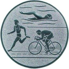 25 Embleme D:50mm Triathlon Zubehör für Medaillen Pokale Pokal (Emblem Laufen)