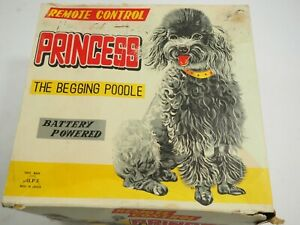 Alps Amico Princess The Begging Poodle Remote Control Toy w/ Box Battery