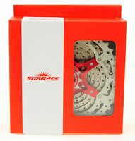 SUNRACE MX3 10 Speed Mountain Bike Cassette 11-42, Red, Shimano/Sram