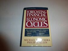 NEW Forecasting Financial and Economic Cycles by Michael P. Niemira HC B276