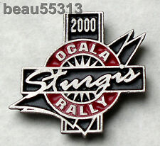 "2000 OCALA FLORIDA ""MINI STURGIS"" ANNUAL BIKE RALLY JACKET VEST HAT TAC PIN"