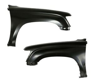 NEW Front Fender Pair Fits Toyota Hilux PickUp 2WD 1998 1999 2000 2001 L+R