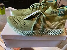 Pharrell Williams Adidas 4D Runner Olive Size 10 US New