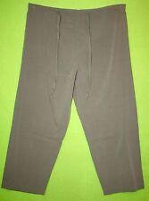 Season Ticket sz 14 Short Womens Green Casual Pants Slacks Trousers 8J57
