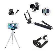Trépied Aluminium + Perche à selfie + adaptateur gopro cam sport appareil photo