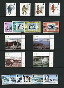 British Antarctic Territory MNH collection on eleven stock pages, SG Cat £300