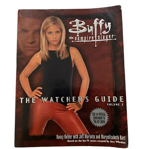 Buffy the Vampire Slayer - THE WATCHERS GUIDE VOLUME 2 Soft Cover Book Official