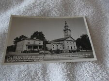 Vincennes Indiana-40's Real Photo Postcard-Cathedral Parish & Church