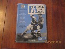 THE FA BOOK FOR BOYS 1951-2
