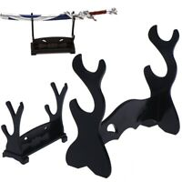 Katana Samurai Sword Wakizashi  Holder  Stand Display Rack Mount Bracket