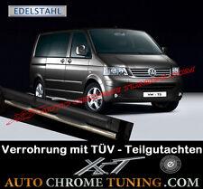 Trittbretter VW T5 ab 2003 - mit TÜV Teilegutachten