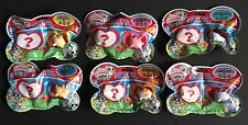 Chubby Puppies Friends Blind Bags Lot of 6 Series 2 Tuxedo Rosy Satin Calico