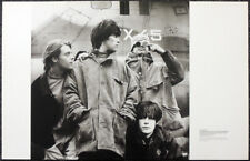 THE STONE ROSES POSTER PAGE . IAN BROWN JOHN SQUIRE MANI RENI . Y40