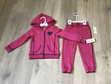 [BNWT] Juicy Couture tracksuits Hot Pink Girl size 3T