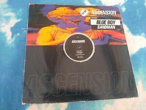 """Blue Boy – Sandman : Ascension Records – ASC UK 18  RARE UK 12"""""""