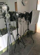 Hedler 5x Studioleuchte Variolux Primalux 2500W Profi Spot Fotostudio Auflösung