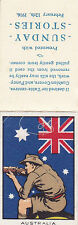 1916 THE KING & HIS SOLDIERS SUNDAY STORIES COMPLETE SILK - AUSTRALIA