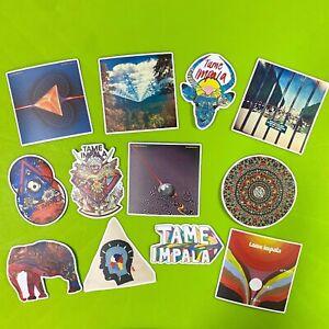 Tame Impala Stickers Set Currents Lonerism Innerspeaker Band Logo Vinyl Decals