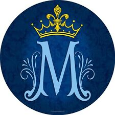 "5.5"" Car Decal Vinyl in Color Marian Symbol"