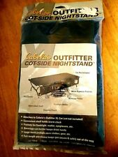 XL Cabela's Outfitter Cot-Side Nightstand Camping Organizer Holder Pockets