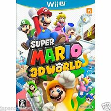Super Mario 3D World NINTENDO WII U JAPANESE NEW JAPANZON