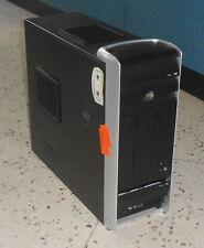 ATX Mini Tower - schwarz / silber - gebraucht - mit 300W ATX Netzteil