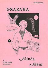"""Star Trek TOS Fanzine """"Gsazara"""", GEN novel by Alinda Alain"""