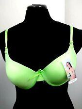 Unbranded Size 38C Bombshell Bra Women's Double Push Up Bra Green