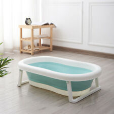 Newborn Toddler  Baby Bath Tub Large Portable Foldable -Green