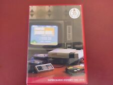 Super Mario History 25th Anniversary Soundtrack Music CD & Booklet Nintendo WII