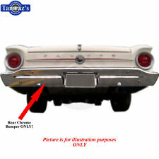 60 To 63 Falcon Ranchero Chrome Rear Bumper Brand New Tooling Limited Quantity