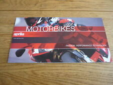Aprilia Motorcycle Manuals & Literature Brochures