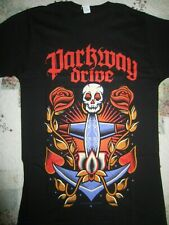 Parkway Drive Anchor Skull T-Shirt  Slim Fit