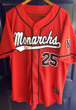 Vtg Kansas City Monarchs Satchel Paige #25 Jersey Negro League Baseball Mens XXL