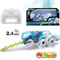 2.4G Remote Control Smart Robotic Dinosaur with Telescopic Tongue Electronic Pet