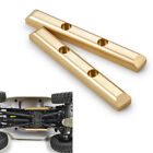 2pcs RC Car Brass Boulder Bars for 1/24 Axial SCX24 90081 Upgrade Accessories